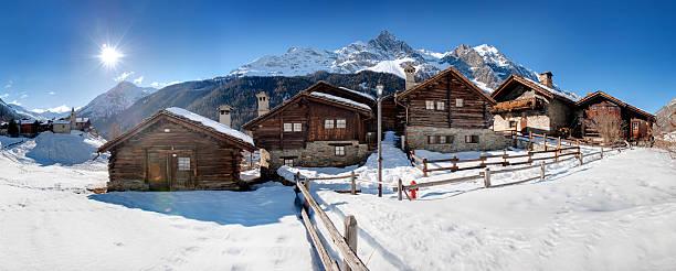 chalet di montagna – Foto