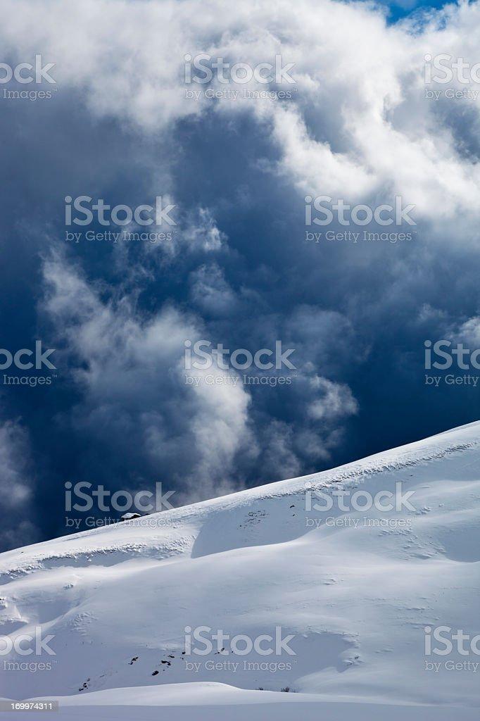 Chalet on Ridge stock photo