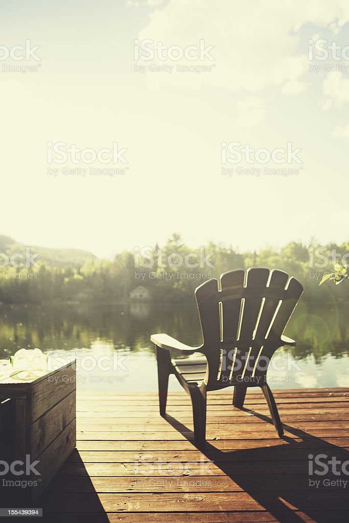 Chalet Style stock photo
