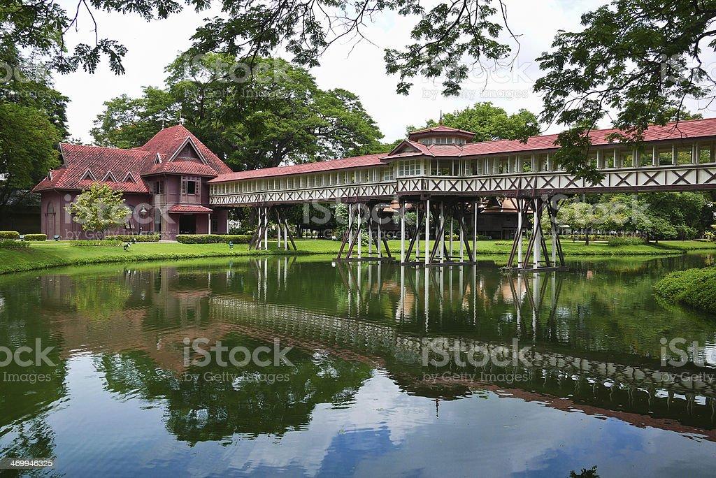 Chali Mongkol Asana at Sanam Chandra Palace stock photo