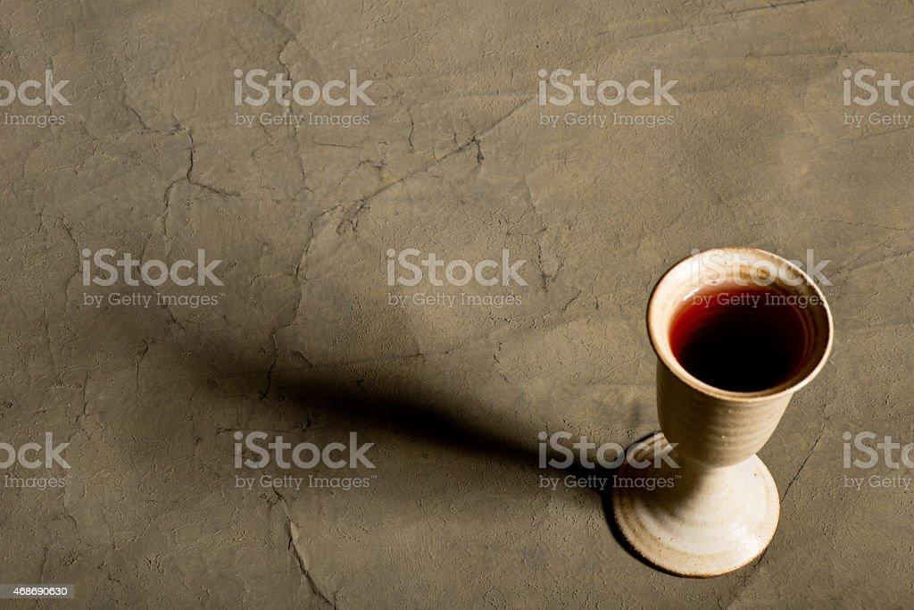 chalice of wine stock photo