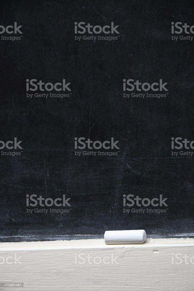 Chalk Board Background royalty-free stock photo