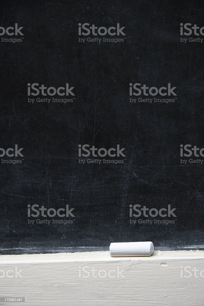 Chalk Board Background stock photo
