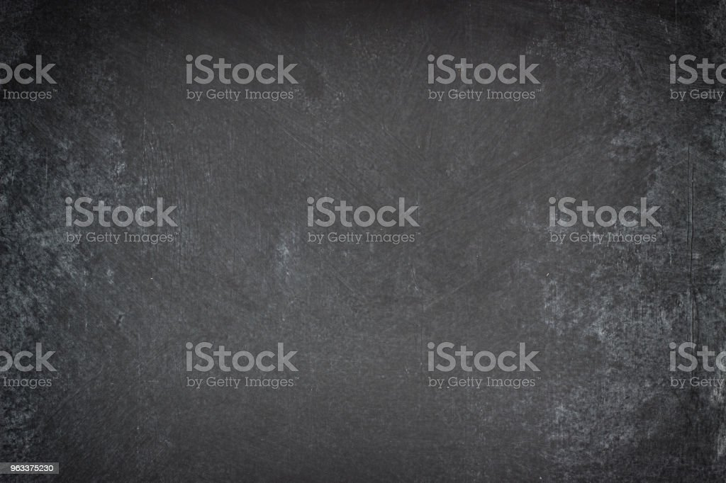 chalk board background, texture of an empty blackboard - Zbiór zdjęć royalty-free (Biały)
