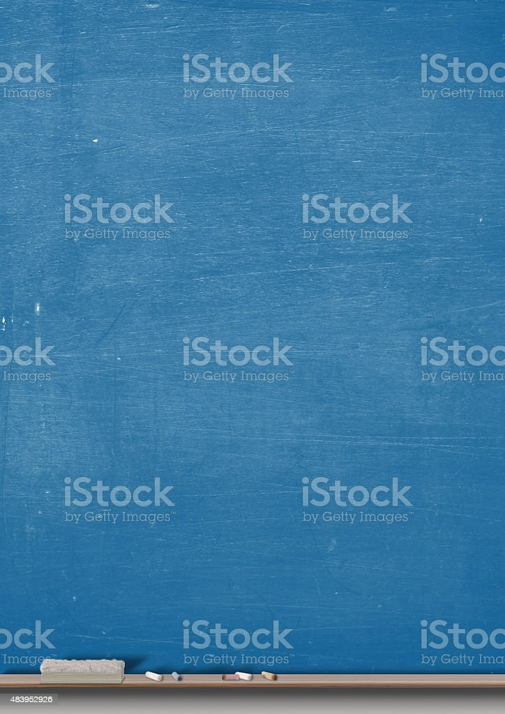Chalk Board Split stock photo