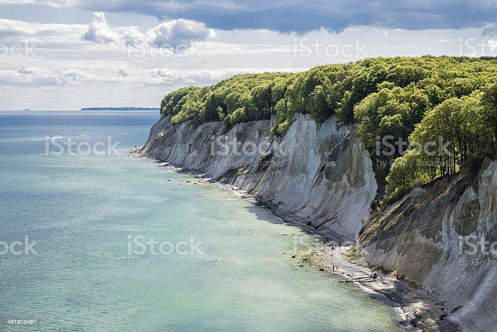 Kreide cliff – Foto