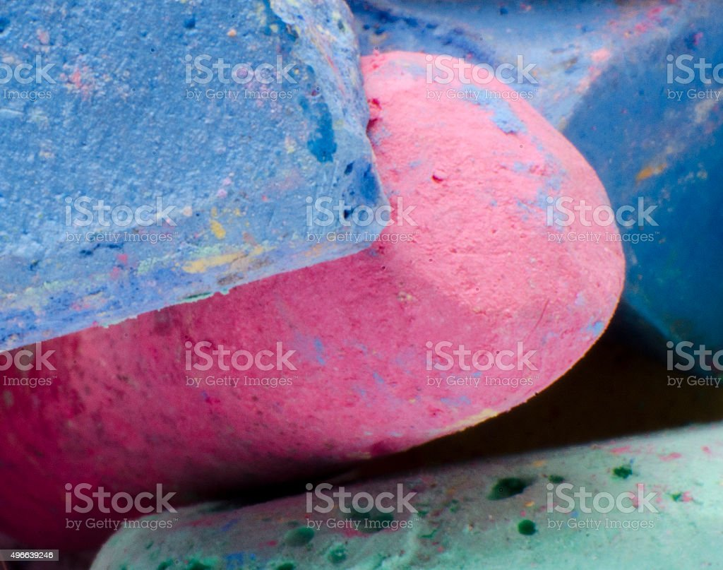 Chalk Detail stock photo