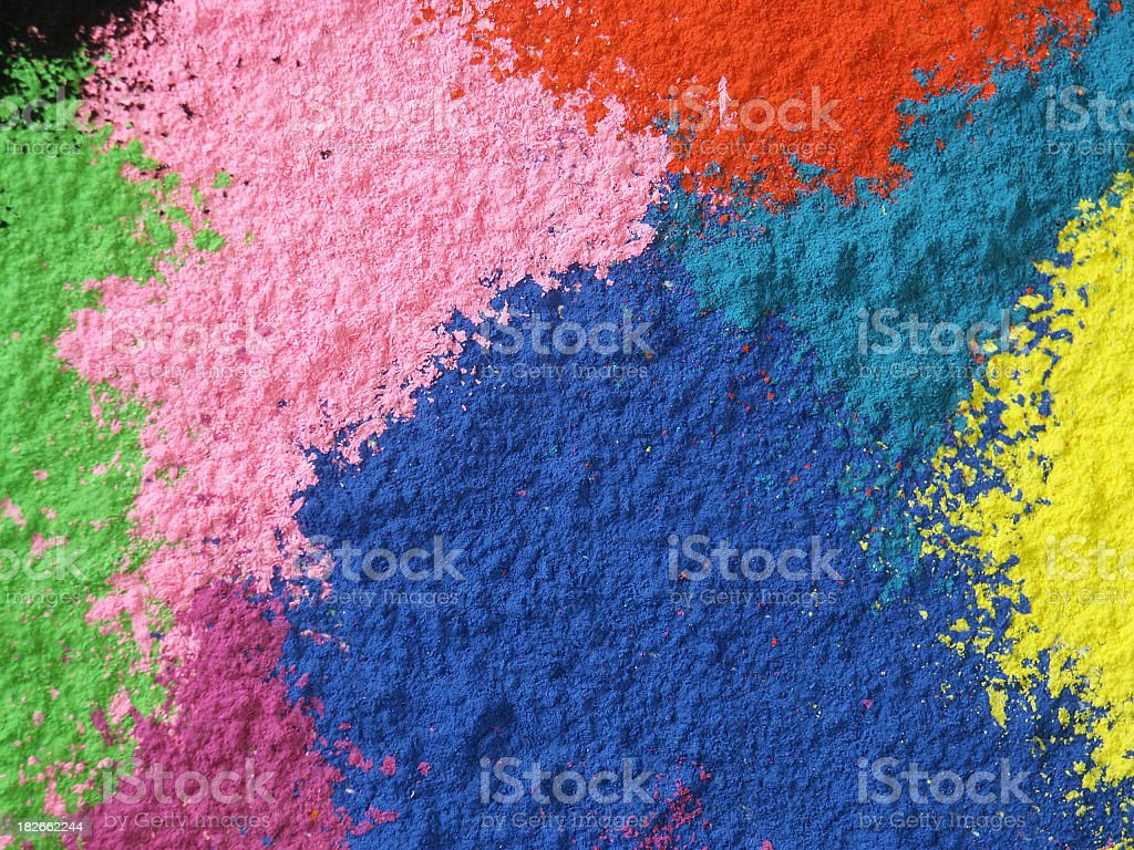 Chalk Dust Abstract royalty-free stock photo