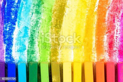 Chalk pastel different colorsChalk pastel different colors
