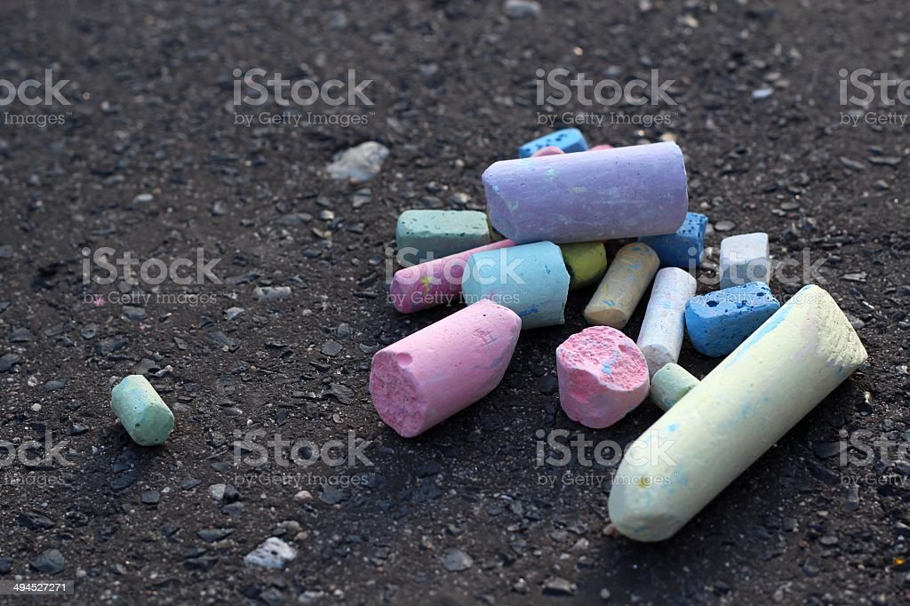Chalk stock photo