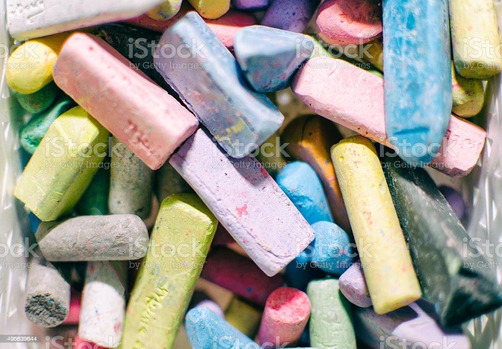 Chalk stock photo