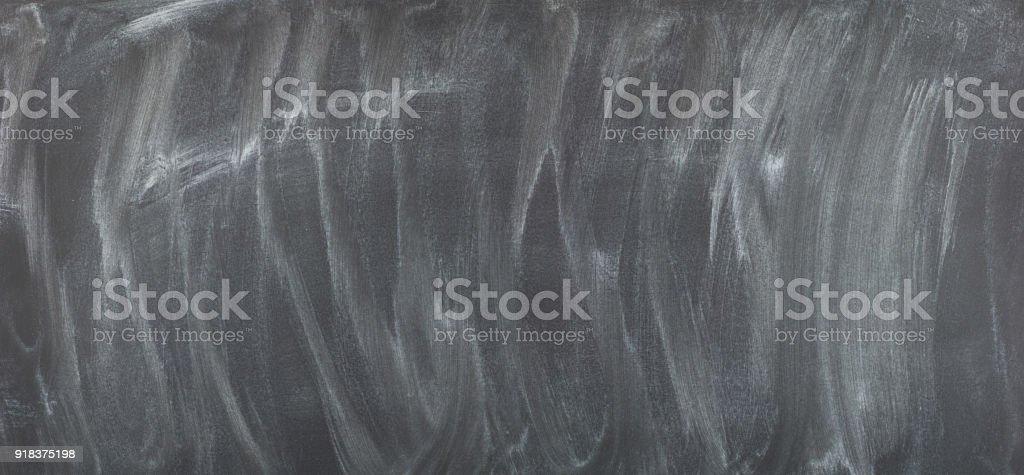 chalk rubbed out on blackboard blank chalkboard background stock