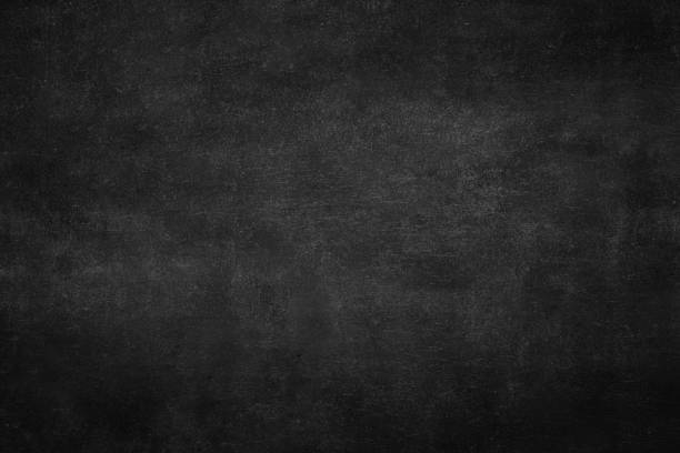 chalkboard, blackboard texture with copy space. blank - foto stock