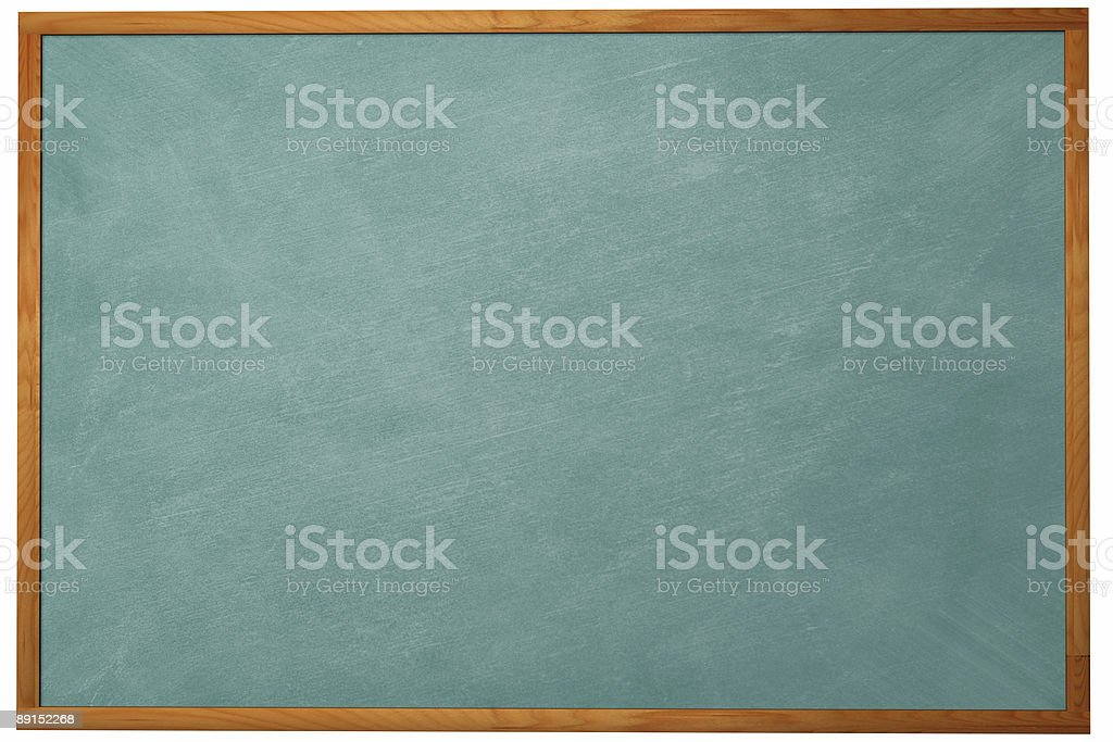 3D Chalkboard royalty-free stock photo