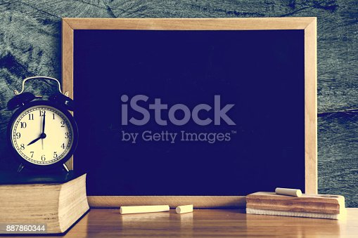 istock Chalkboard with Blank space. 887860344