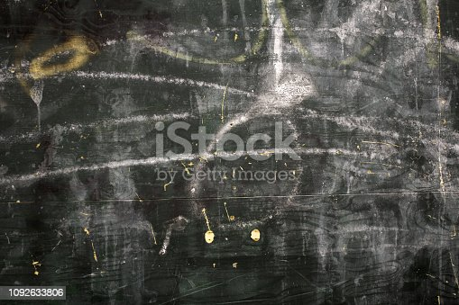 istock Chalkboard with chalk strokes 1092633806