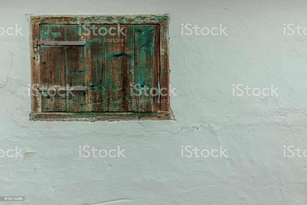 Geweißten Wand – Foto