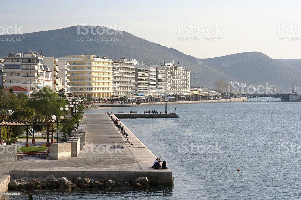 Chalkida, Greece - Royalty-free Bench Stock Photo