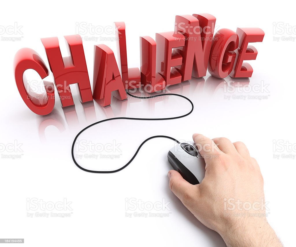 challenge royalty-free stock photo