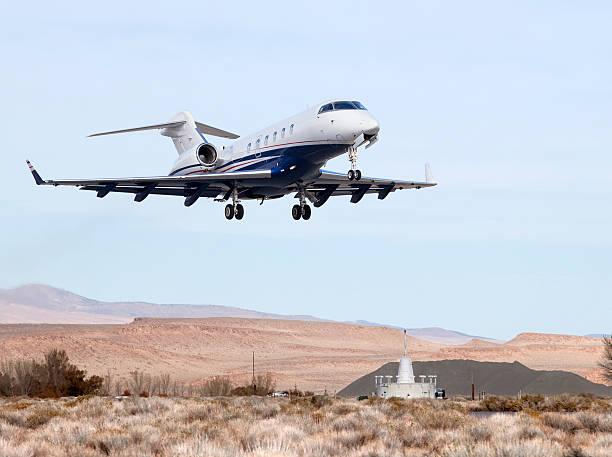 Challenger Jet Launching stock photo