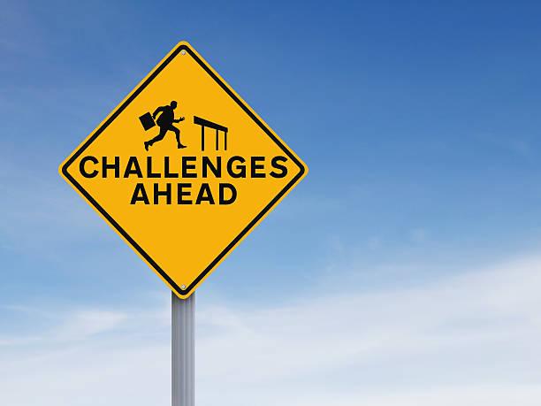 challenges ahead - durum stok fotoğraflar ve resimler