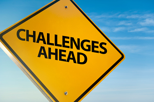 Challenges ahead / Traffic sign (Click for more)