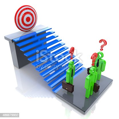 465048456istockphoto Challenges to achieving the goal 486679932