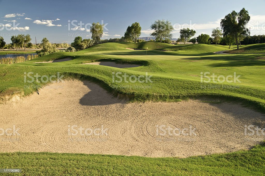 Challenging Approach stock photo