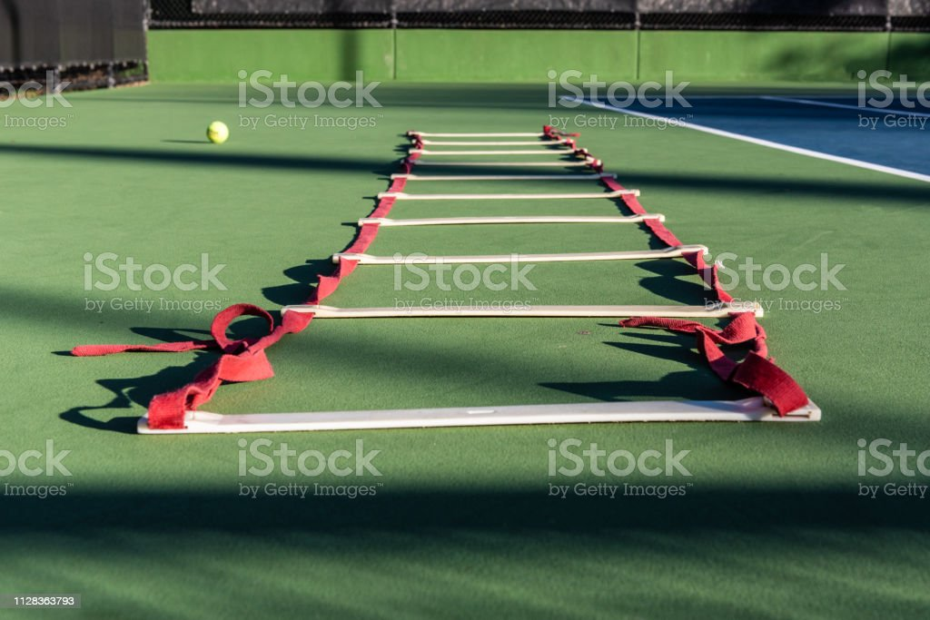 Challenging drills for the developing athlete stock photo