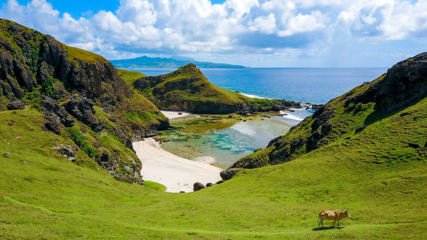 Chamantad Tiñan Cove of Sabtang island in the province of Batanes, Philippines