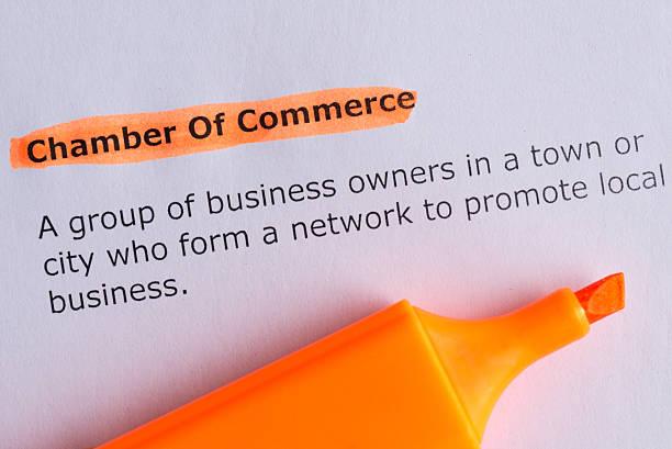 chamber of commerce stock photo