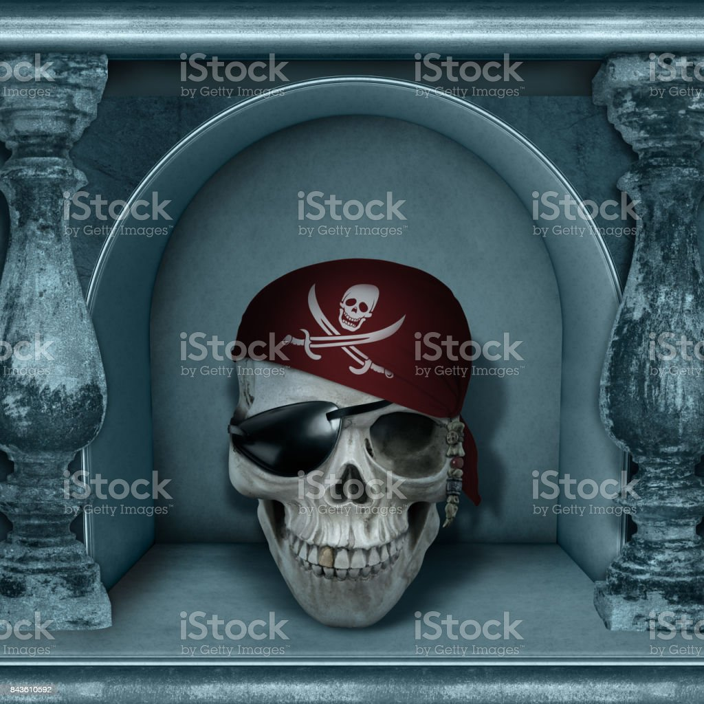 Chamber of Skulls Halloween Poster Collection stock photo