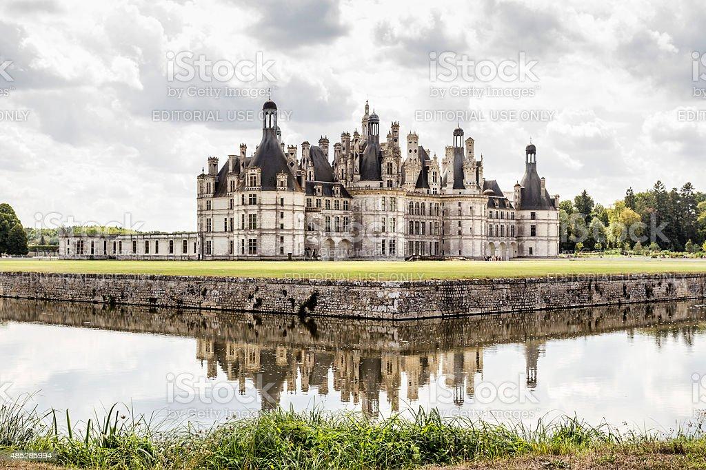 Chambord Castle - Loire - France stock photo