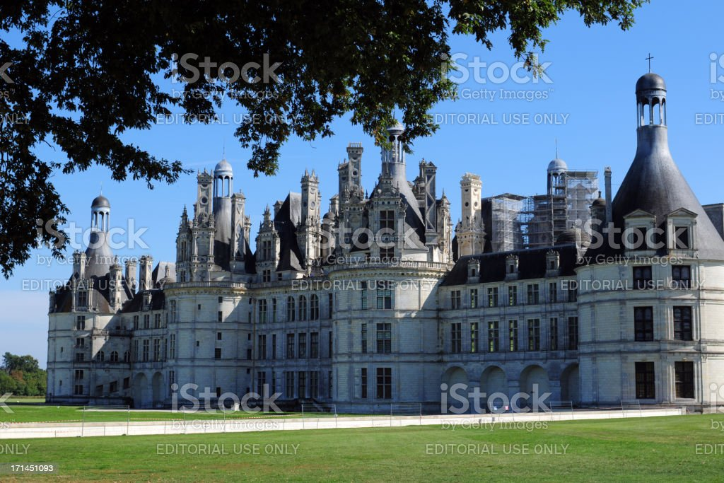 Chambord Chateau,France - XLarge stock photo