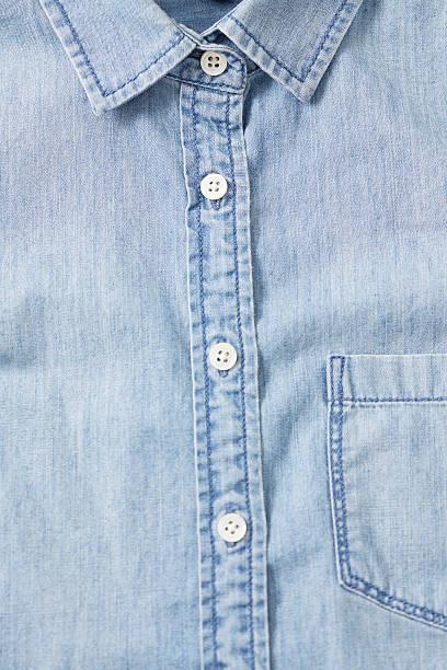 Chambray Shirt stock photo