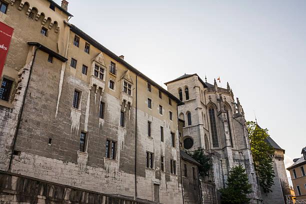 Chambéry (Francia). Città vecchia. Palazzo dei Duchi di Savoia - foto stock