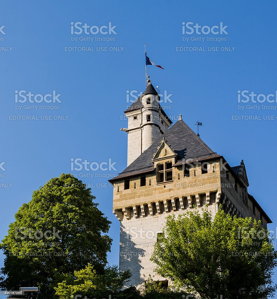 Chambéry (France). Old town. Palace of the Dukes of Savoy stock photo