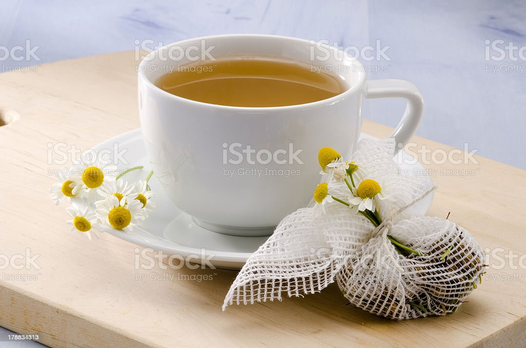 Chamomile Herbal Tea royalty-free stock photo