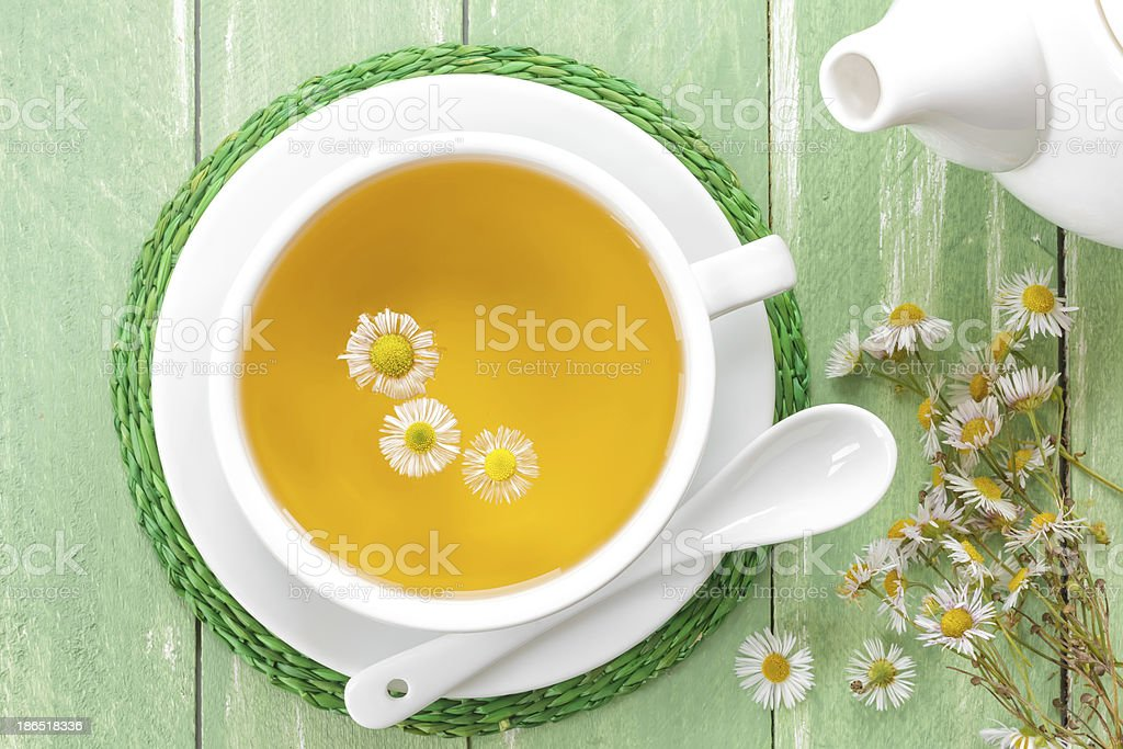 Chamomile tea royalty-free stock photo
