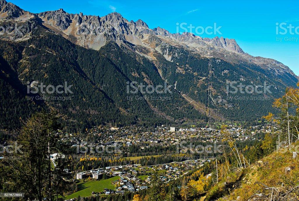 Chamonix, Haute Savoie, Frankreich – Foto