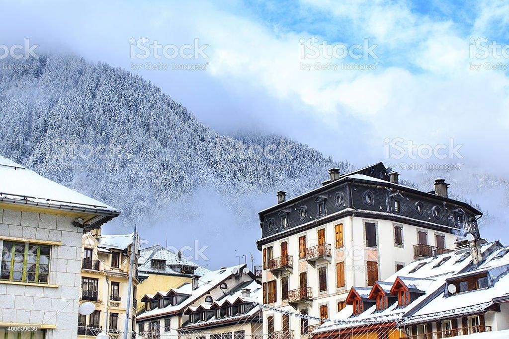 Chamonix royalty-free stock photo