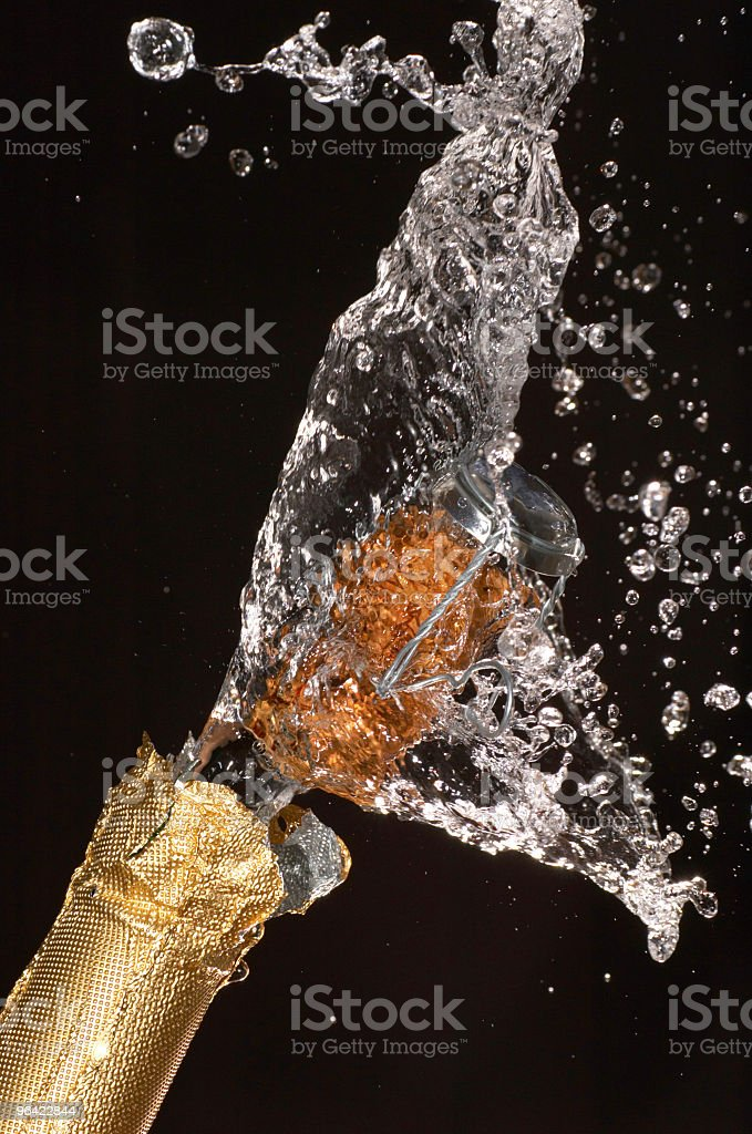 Champagn royalty-free stock photo