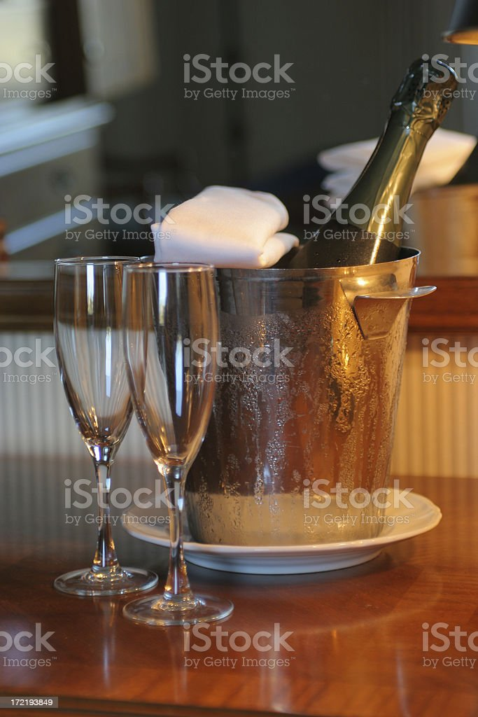 Champagne 5 royalty-free stock photo
