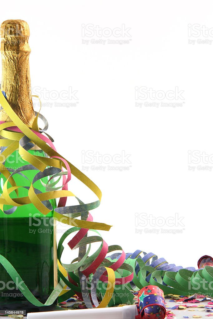 champagne and party royalty-free stock photo
