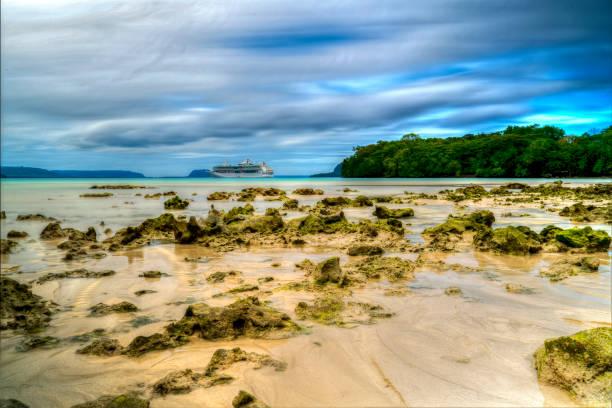Champagne Bay, Loyalty Islands stock photo