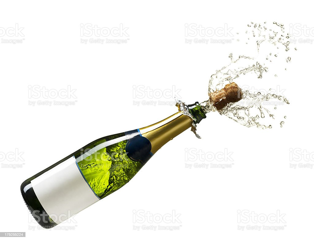 Image result for Bottle of Champagne