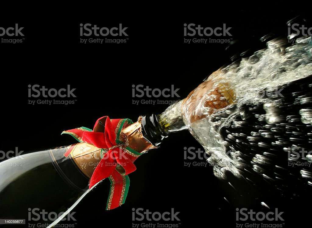 Champagne Bottle Ready For Celebration Stock Photo Download Image Now Istock