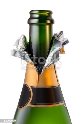Champagne bottle uncorked. Similar pictures from my portfolio: