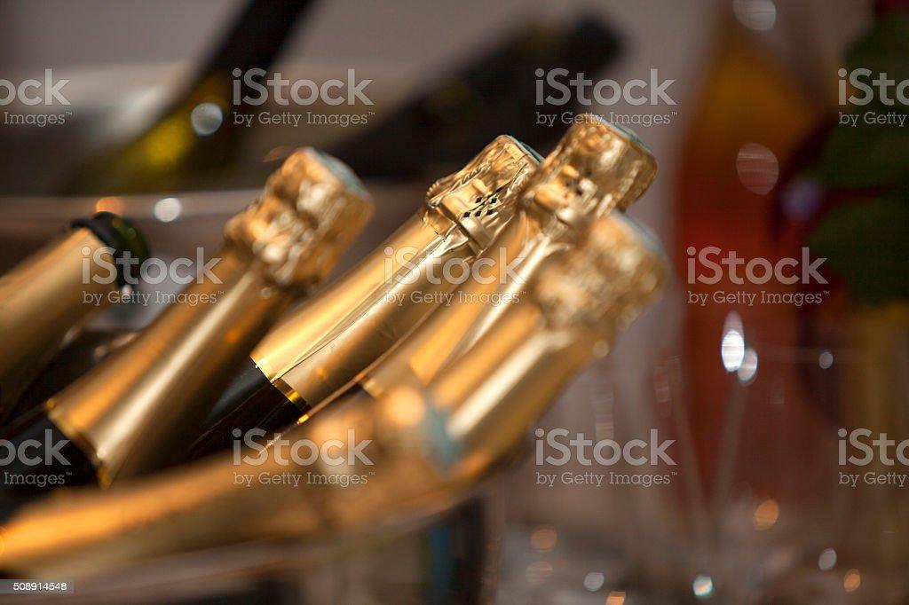 Champagnerflaschen – Foto