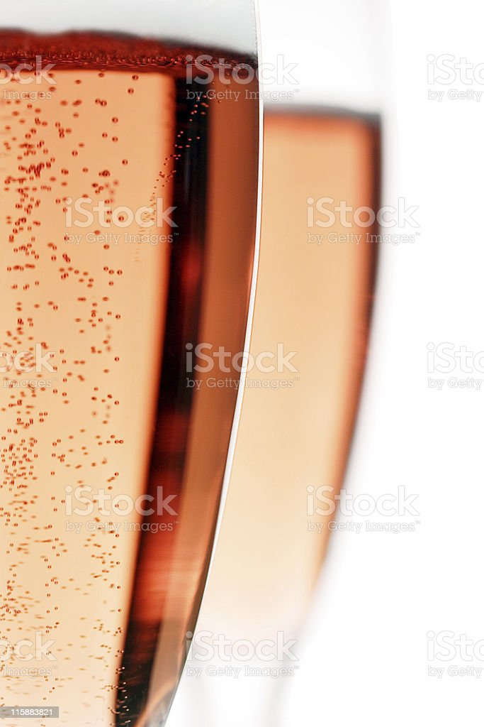 champagne bubbles stock photo